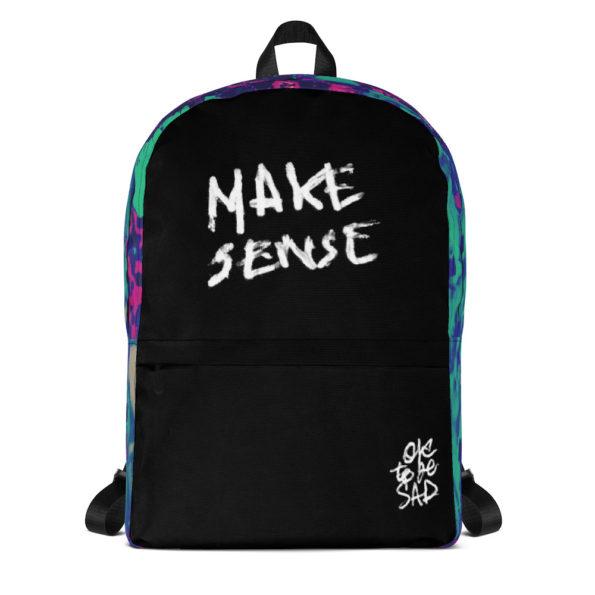 MAKE SENSE - Backpack - Front