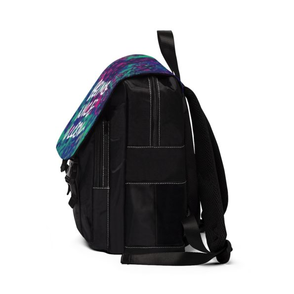BEING NICE IS COOL - Casual Shoulder Backpack - Side B