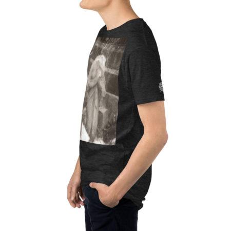 HEADLESS DEVOTION - Long Body Urban Tee - Side