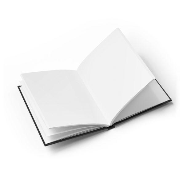 MAKE SENSE - Blank Journal - Open
