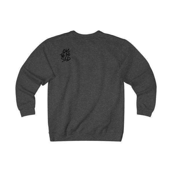 MAKE SENSE - Heavyweight Fleece Sweatshirt - Back
